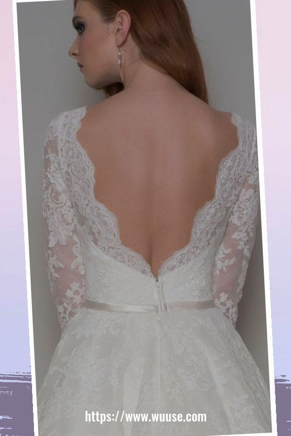 46 Fashionable Open Back Wedding Dresses Ideas For Spring 2