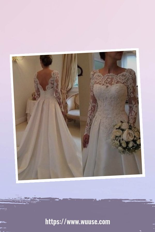 46 Fashionable Open Back Wedding Dresses Ideas For Spring 3