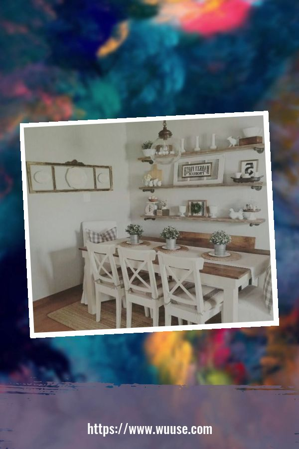 46 Smart Farmhouse Table Décor Ideas For Dining Room To Try 2
