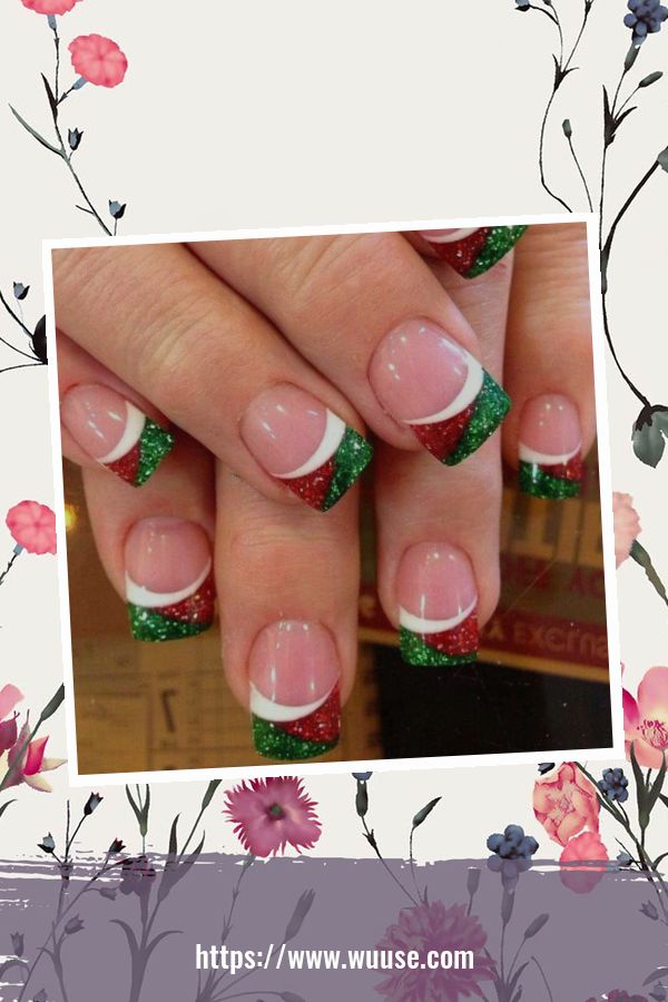 47 Cute Christmas Nail Art Ideas To Boost Your Mood 2