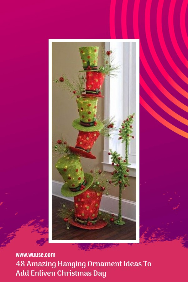 48 Amazing Hanging Ornament Ideas To Add Enliven Christmas Day 45