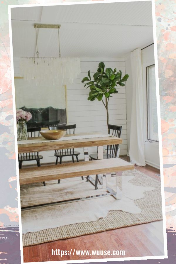 49 Awesome Modern Farmhouse Dining Room Design Ideas 47