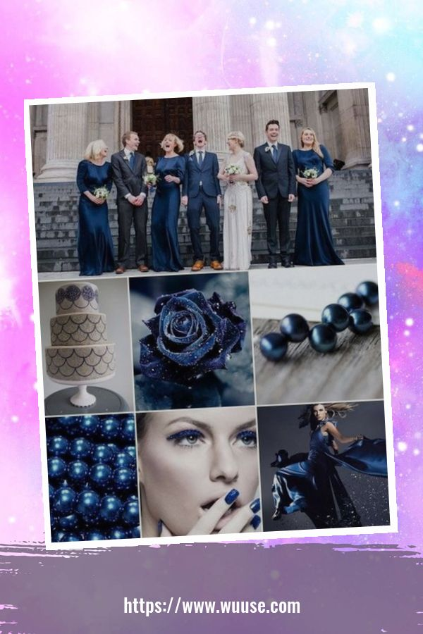 49 Newest Blue And Silver Wedding Ideas For Winter 2
