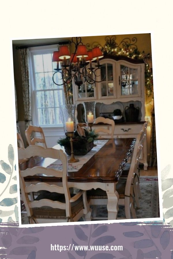 50 Amazing French Country Dining Room Table Decor Ideas 2