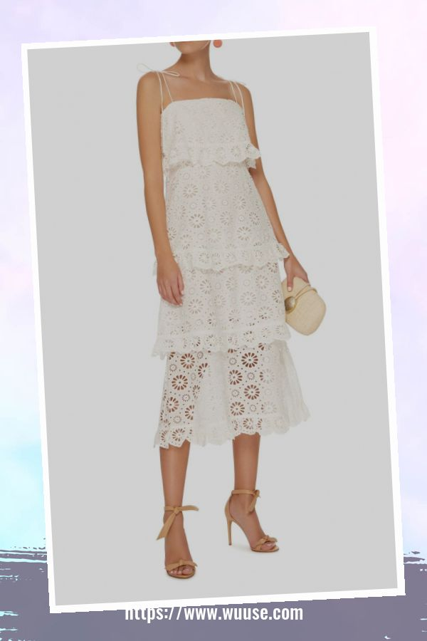 50 Attractive Lace Shift Dress Outfit Ideas For Spring 1