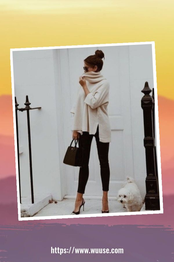 50 Delightful Outfit Ideas For Winter With High Heels 2