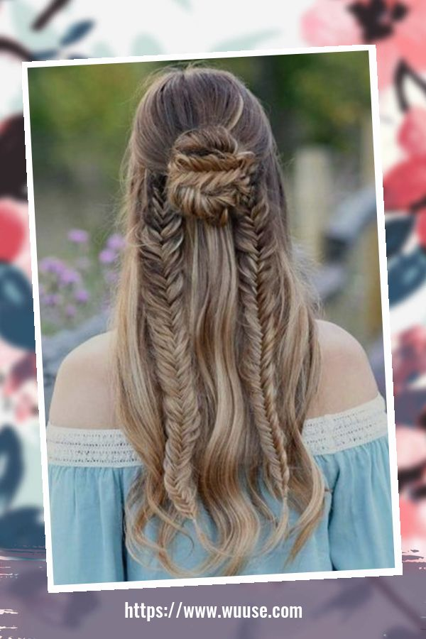 50 Pretty Christmas Hairstyles For Your Little Girls 2